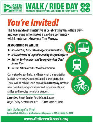 South Station Sept 20 event Flyer